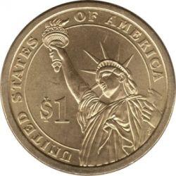 Coin > 1dollar, 2009 - USA  (President of the USA - James K. Polk (1845-1849)) - reverse
