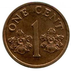 Moneta > 1centesimo, 1986-1990 - Singapore  - reverse