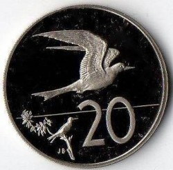 Moneta > 20centesimi, 1972-1983 - Cook (Isole)  - reverse