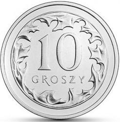 Coin > 10groszy, 2017-2019 - Poland  - reverse
