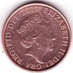 Монета > 1пенні, 2015-2019 - Велика Британія  - obverse