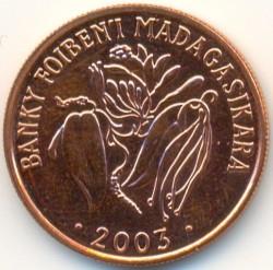 錢幣 > 2阿里亞里, 2003 - 馬達加斯加  - reverse