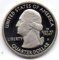 Coin > ¼ dollar, 2017 - USA  (George Rogers Clark National Historical Park) - reverse
