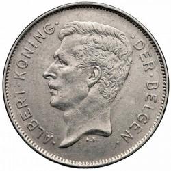 Münze > 20Franken, 1931-1932 - Belgien  (Legend in Dutch - 'ALBERT KONING DER BELGEN') - obverse