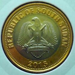 Монета > 2фунта, 2015 - Южный Судан  - obverse