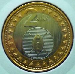 Монета > 2фунта, 2015 - Южный Судан  - reverse