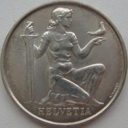 Moneta > 5franchi, 1936 - Svizzera  (Fondo per l'Armamento della Confederazione) - obverse