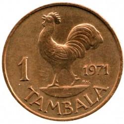 Монета > 1тамбала, 1971-1982 - Малави  - reverse