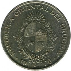 Monedă > 20peso, 1970 - Uruguay  - obverse