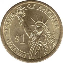 Coin > 1dollar, 2010 - USA  (President of the USA - Franklin Pierce (1853-1857)) - reverse