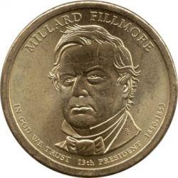 Монета > 1доллар, 2010 - США  (Президент США - Миллард Филлмор (1850-1853)) - obverse
