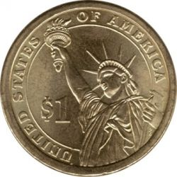 Монета > 1доллар, 2010 - США  (Президент США - Миллард Филлмор (1850-1853)) - reverse