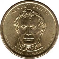 Moneta > 1dolar, 2009 - USA  (Prezydent USA - Zachary Taylor (1849-1850)) - obverse