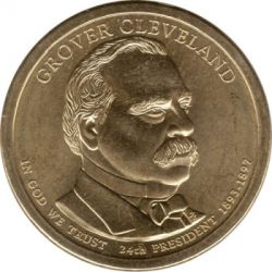Münze > 1Dollar, 2012 - USA  (President of the USA - Grover Cleveland (1893–1897)) - obverse