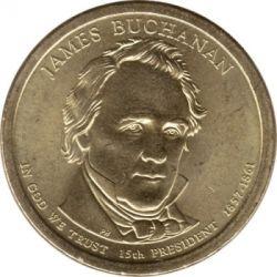 Монета > 1долар, 2010 - САЩ  (President of the USA - James Buchanan (1857-1861)) - obverse