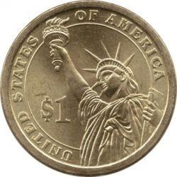 Moneta > 1doleris, 2010 - JAV  (President of the USA - James Buchanan (1857-1861)) - reverse