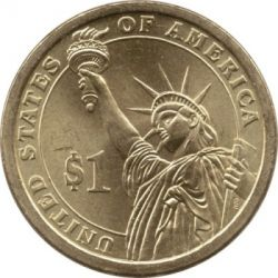 Монета > 1долар, 2010 - САЩ  (President of the USA - James Buchanan (1857-1861)) - reverse