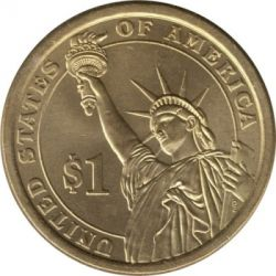 Münze > 1 Dollar, 2014 - USA  (President of the USA - Franklin D. Roosevelt (1933–1945)) - reverse