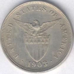 Νόμισμα > 5Σεντάβος, 1903-1928 - Φιλιππίνες  - reverse