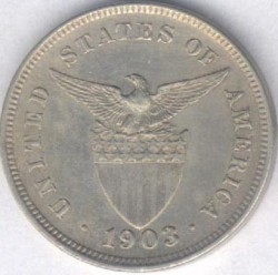 Moneda > 5centavos, 1903-1928 - Filipinas  - reverse