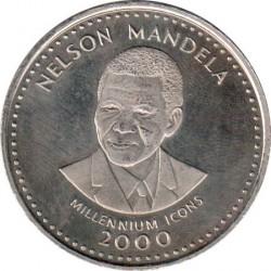 Moneta > 25scellini, 2000 - Somalia  (Icone del millennio - Nelson Mandela) - reverse