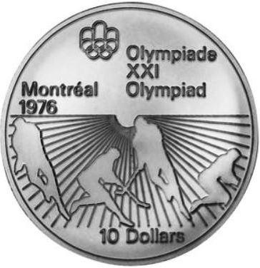 10 Dollar 1976 Field Hockey Kanada Münzen Wert Ucoinnet