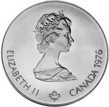 10 Dollar 1976 Olympic Velodrome Kanada Münzen Wert Ucoinnet