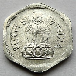Монета > 3пайса, 1968-1971 - Индия  - obverse