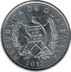 Монета > 25сентавос, 2012-2016 - Гватемала  - obverse