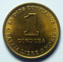 Moeda > 1cordoba, 1987 - Nicarágua  - obverse