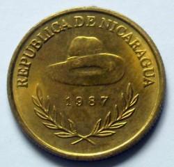 Moeda > 1cordoba, 1987 - Nicarágua  - reverse