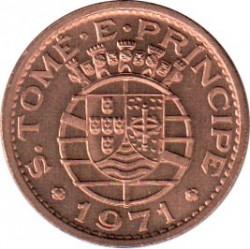Монета > 50сентаво, 1971 - Сан-Томе и Принсипи  - obverse