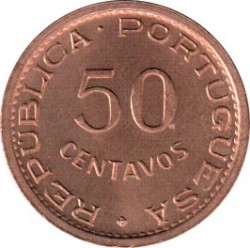 Монета > 50сентаво, 1971 - Сан-Томе и Принсипи  - reverse