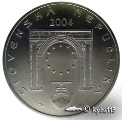 Moneta > 200corone, 2004 - Slovacchia  (Ingresso nell'UE) - obverse