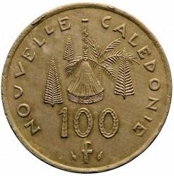 Монета > 100франков, 1976-2005 - Новая Каледония  - reverse