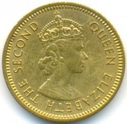 Pièce > 5cents, 1955-1965 - Caraïbe Orientale  - reverse