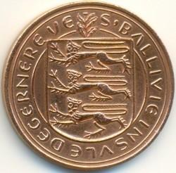 Münze > 8Doubles, 1956-1966 - Guernsey  - obverse