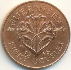 Münze > 8Doubles, 1956-1966 - Guernsey  - reverse