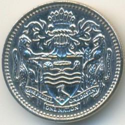 Moneta > 10centów, 1976 - Gujana  (Herb na rewersie) - obverse