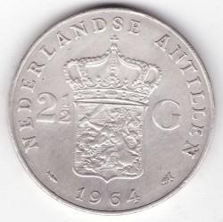 Moneta > 2½fiorini, 1964 - Antille Olandesi  - reverse