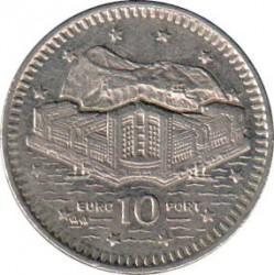 Moneda > 10peniques, 1992-1997 - Gibraltar  - reverse