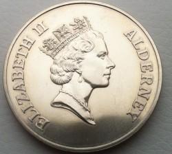 العملة > 5جنية, 1995 - آلدرني  (95th Anniversary - Birth of Queen Mother) - obverse