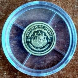 Moneta > 25dollari, 2003 - Liberia  (Panda) - obverse