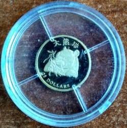 Moneta > 25dollari, 2003 - Liberia  (Panda) - reverse