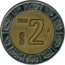 Pièce > 2pesos, 1996-2018 - Mexique  - reverse