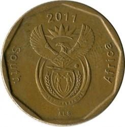 Монета > 50центів, 2011 - Південно-Африканська Республіка  - obverse