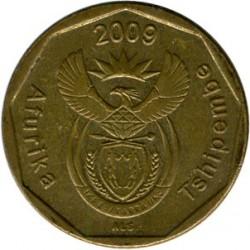 Moneta > 20centów, 2009-2012 - Afryka Południowa  - obverse