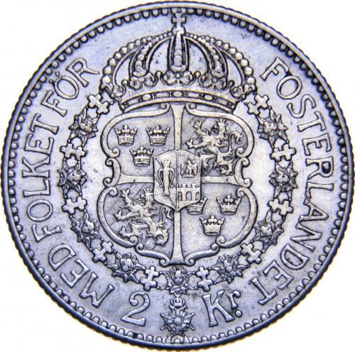 2 Kronen 1910 Schweden Münzen Wert Ucoinnet