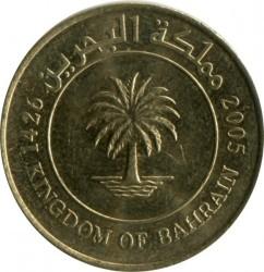 Moneta > 10filsów, 2002-2008 - Bahrajn  - reverse