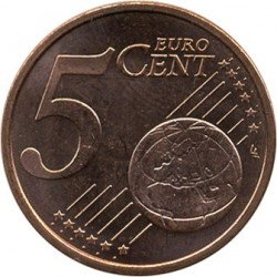 Coin > 5cents, 2014-2015 - Andorra  - obverse